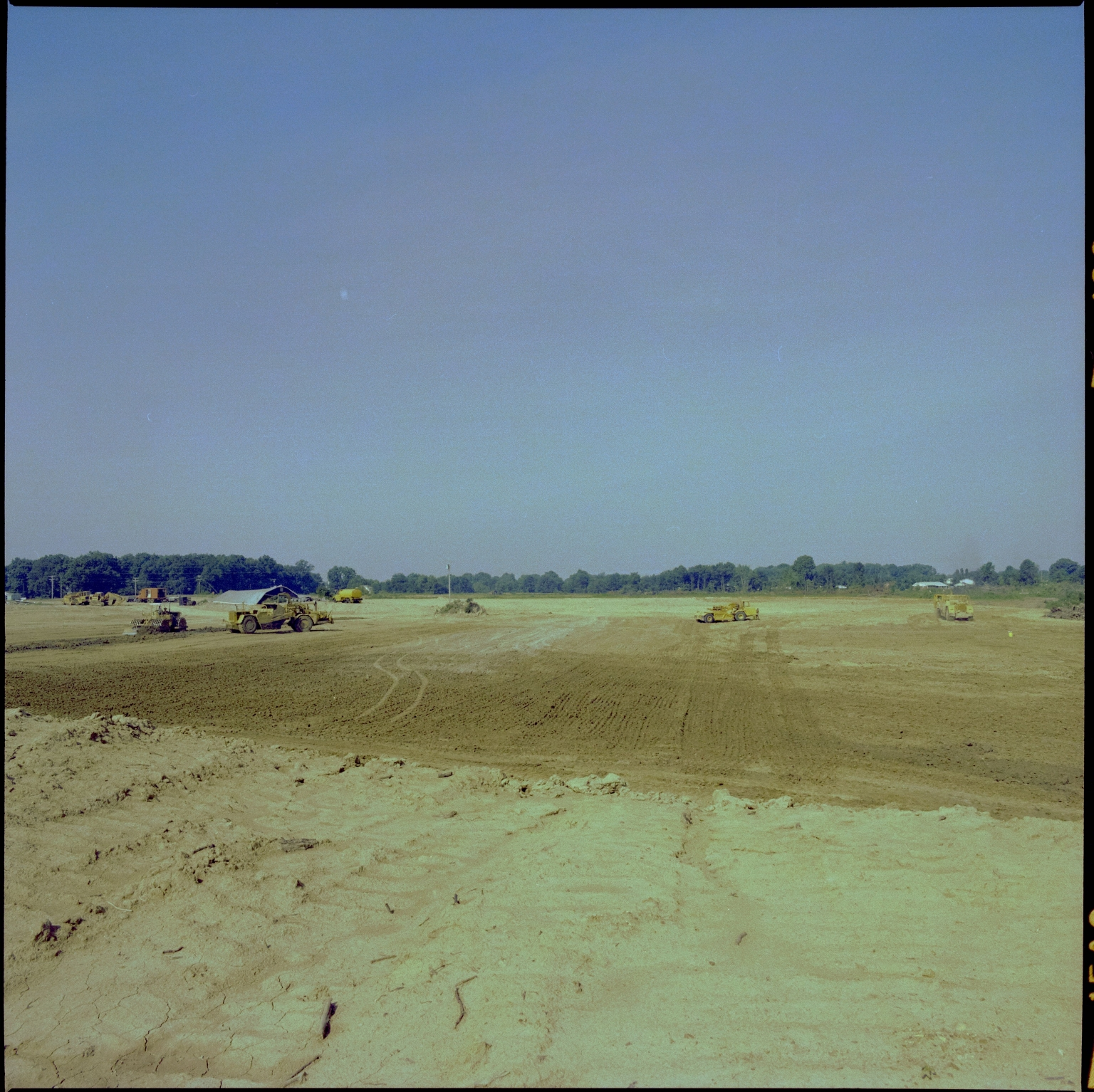 Construction of Kentucky Oaks Mall