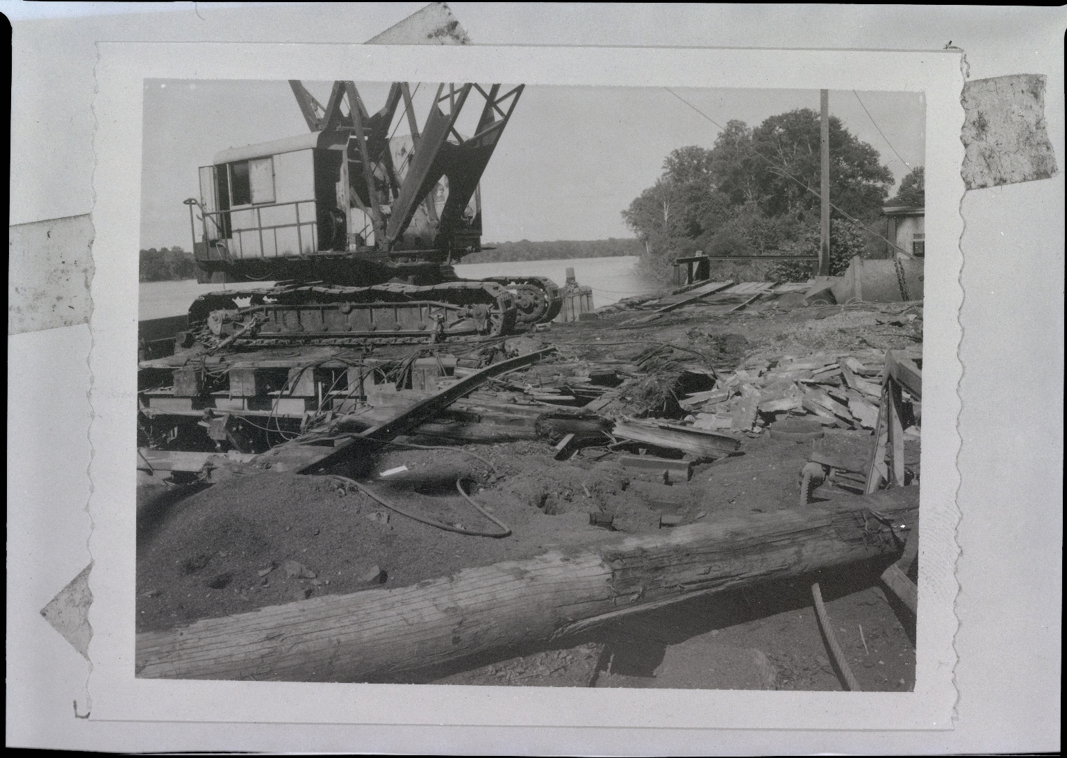 Construction on River