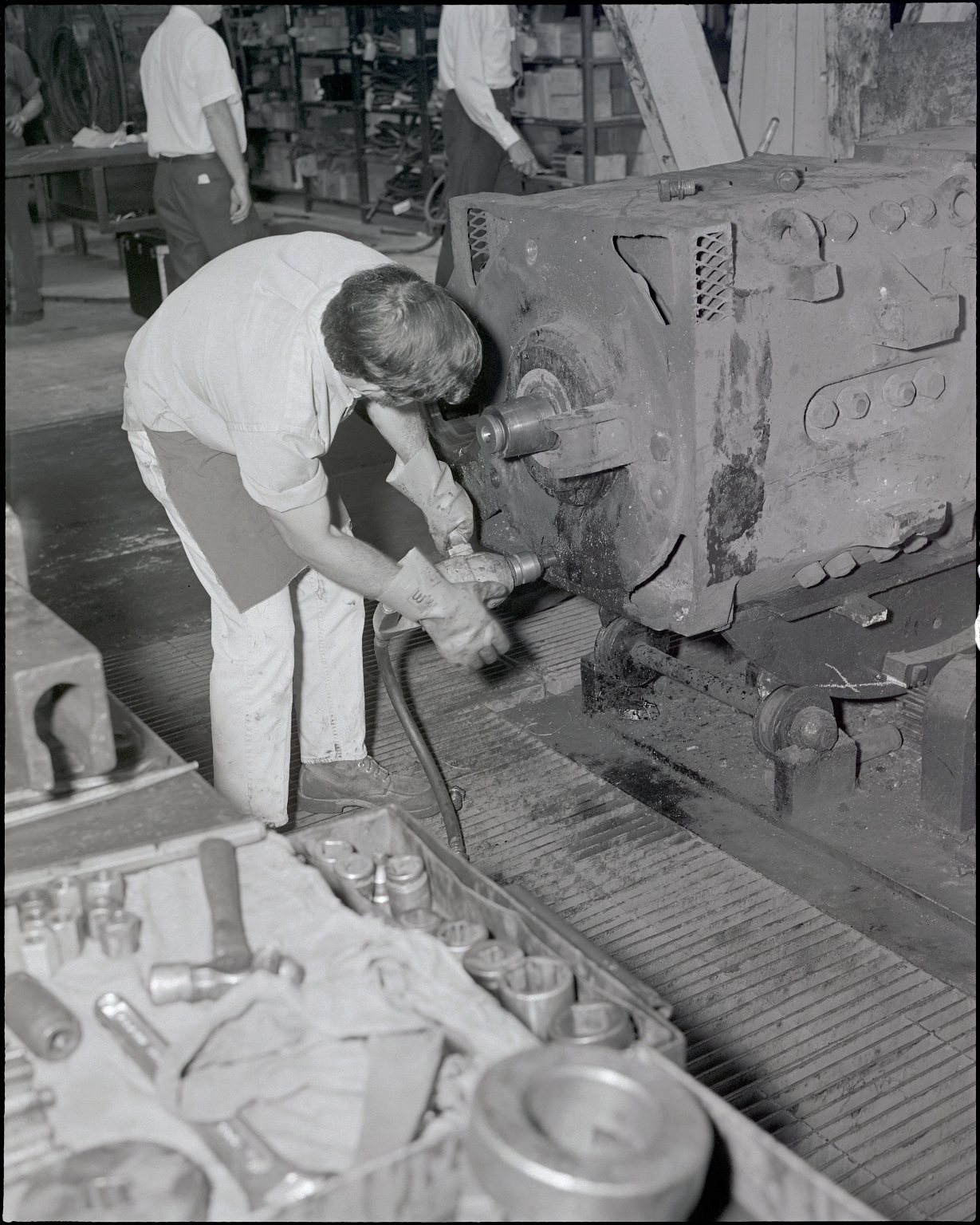 Employee and Locomotive Component