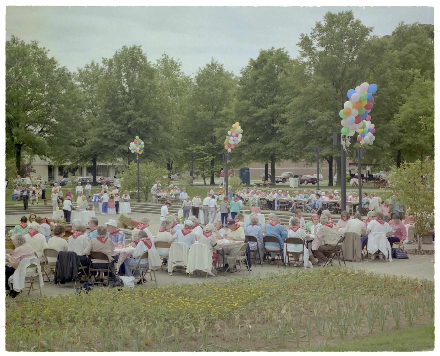 Square Dance in Dolly McNutt Memorial Plaza