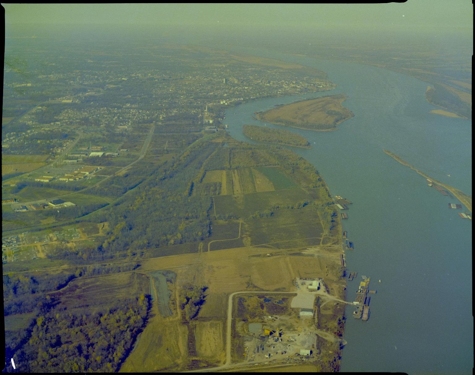Aerialof the Ohio and Tennessee