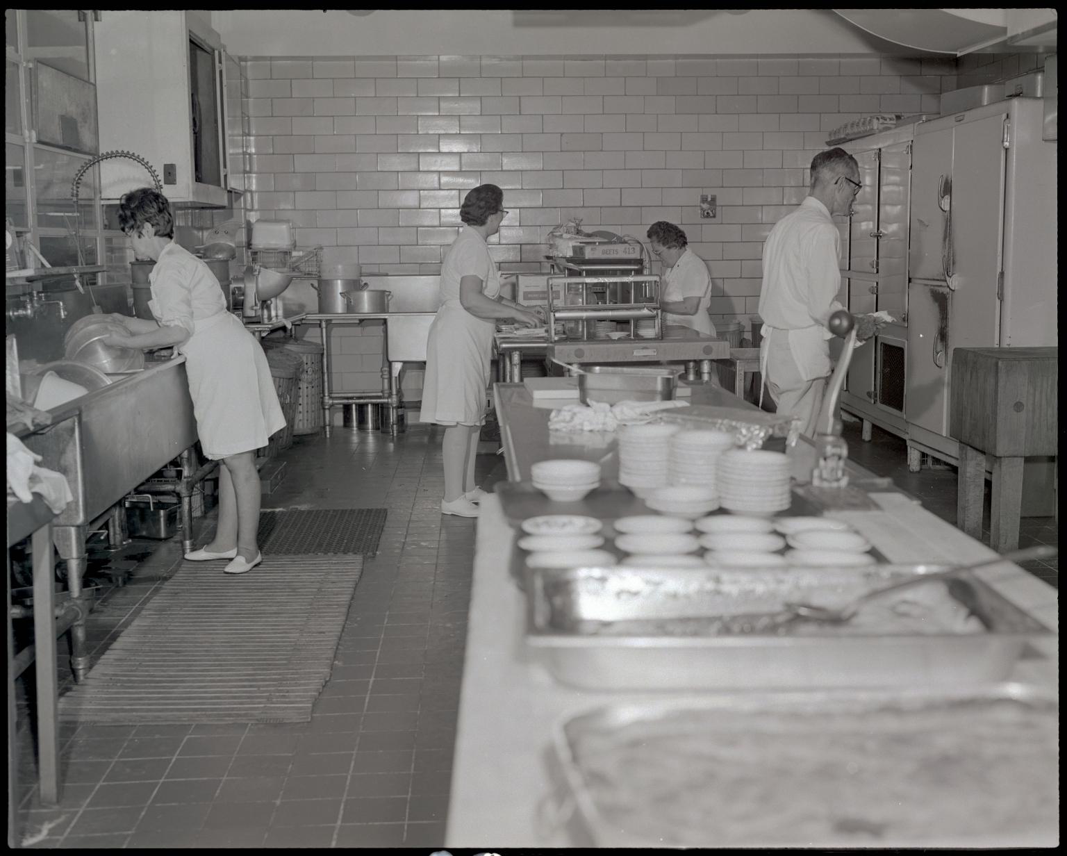 Hospital Kitchen