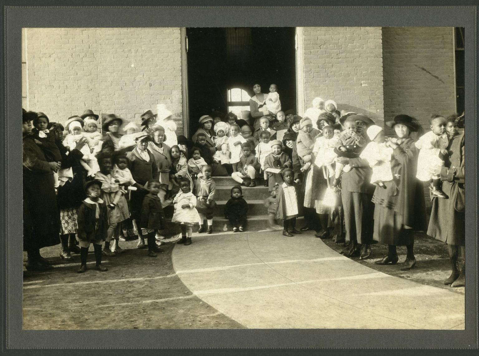 1921 McCracken County Health League Better Babies Contest