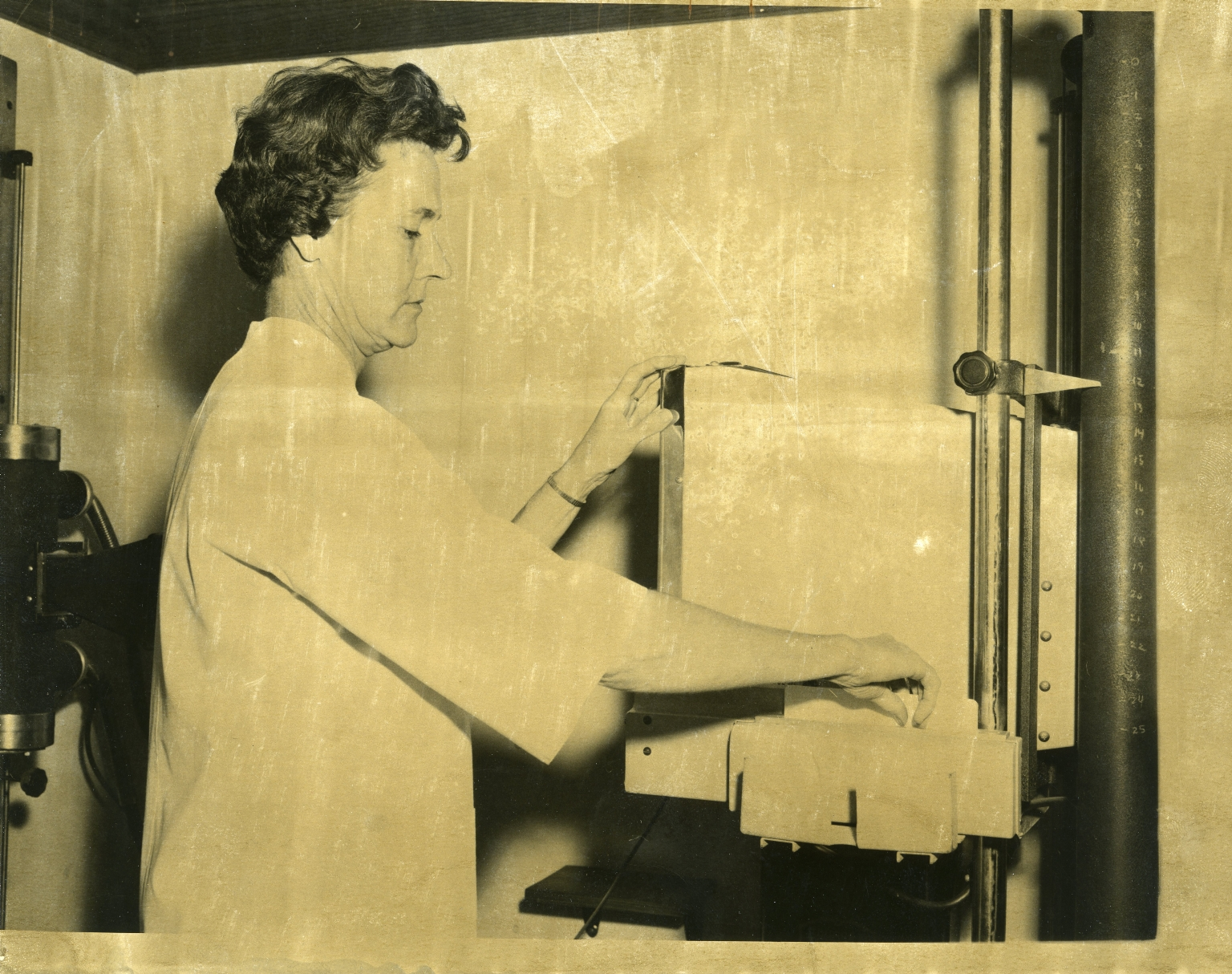 McCracken County Health Department Staff with X-Ray Equipment
