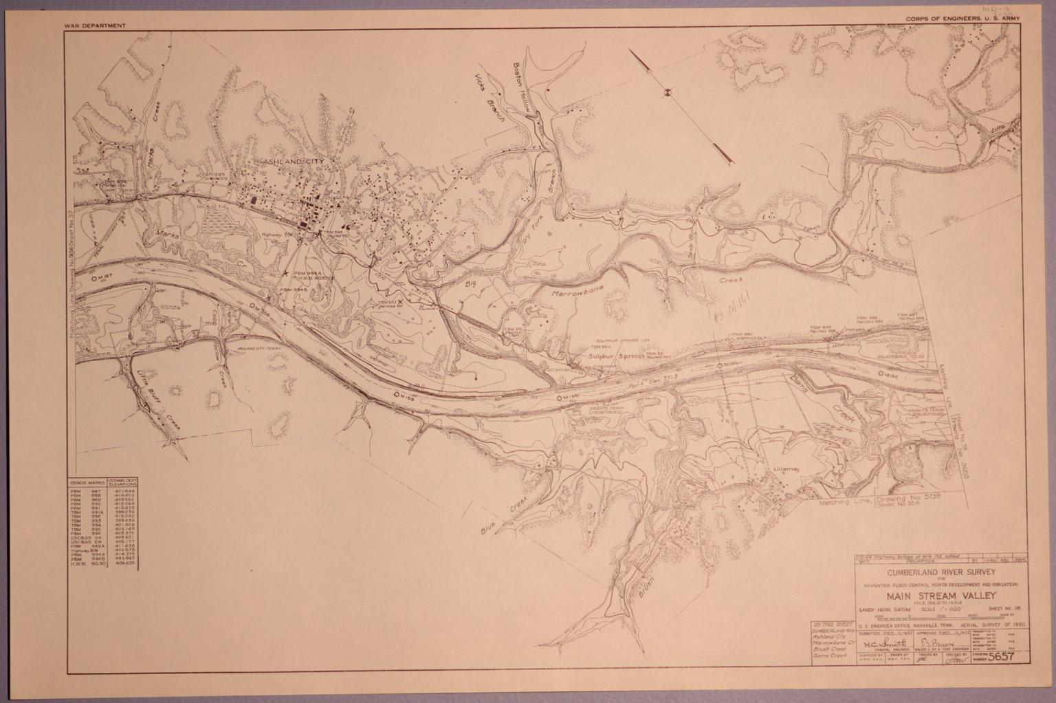 Cumberland River Survey 5657