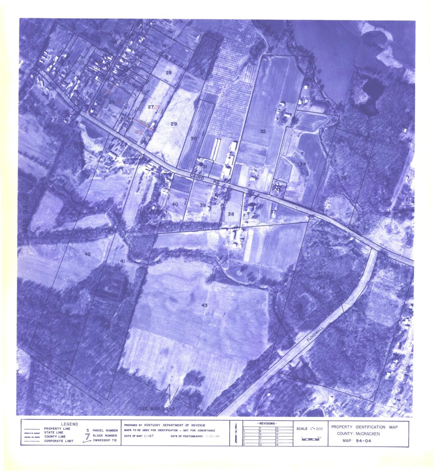 Property Identification Map McCracken County, Map 94-04