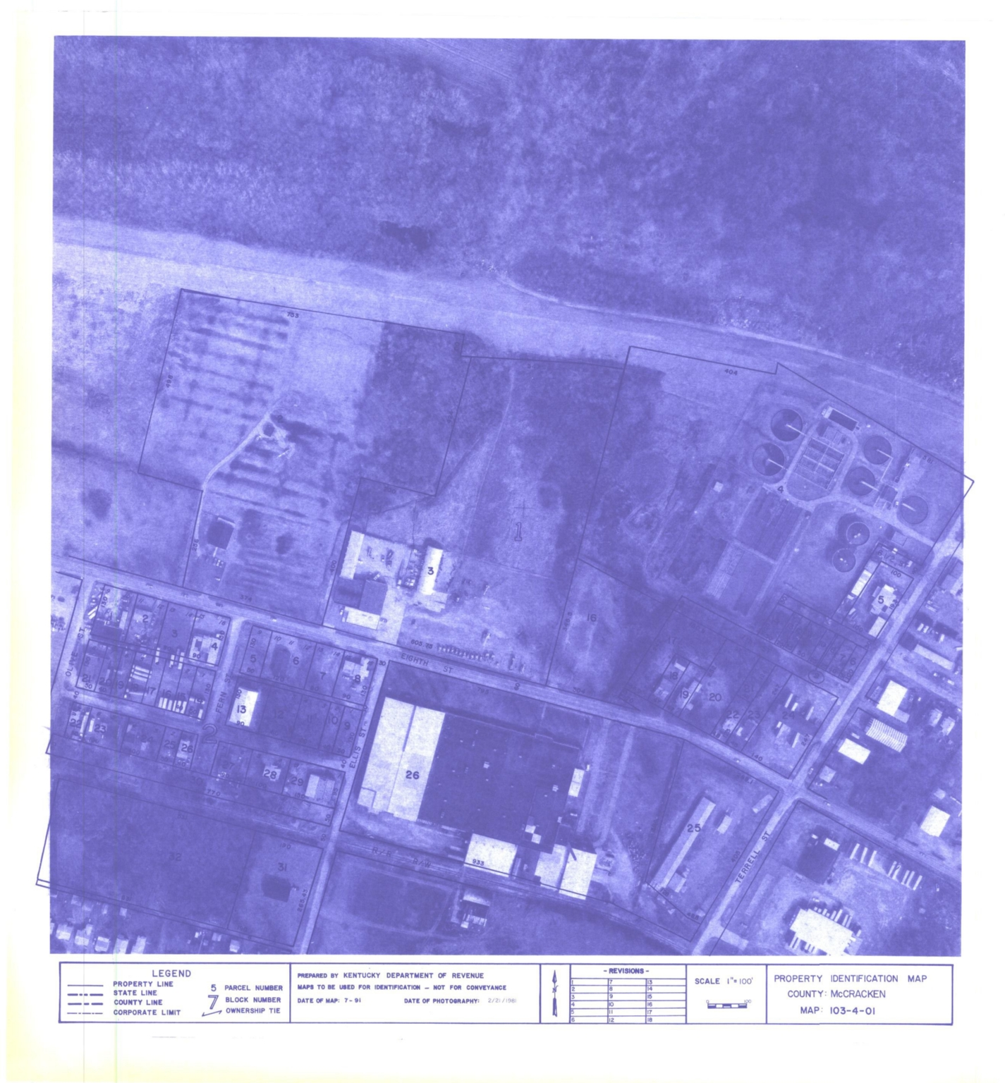 Property Identification Map McCracken County, Map 103-04-01