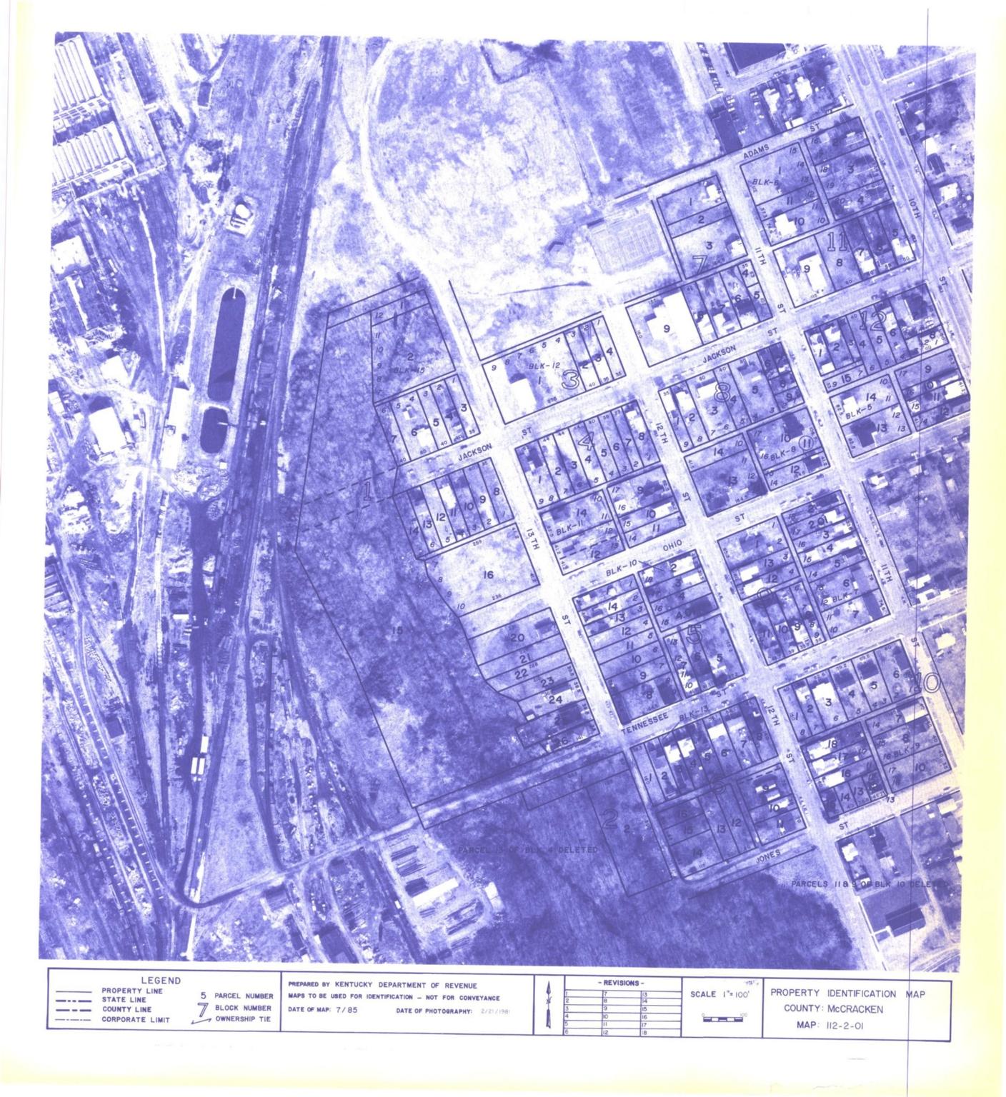 Property Identification Map McCracken County, Map 112-2-01