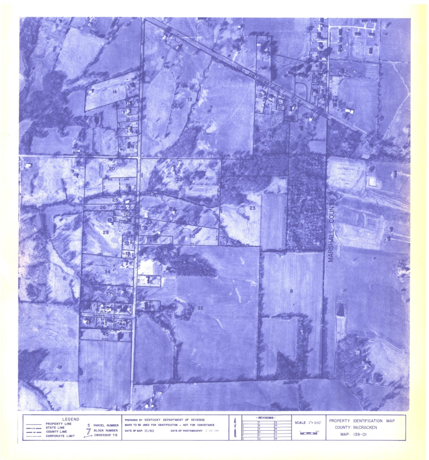 Property Identification Map McCracken County, Map 139-01