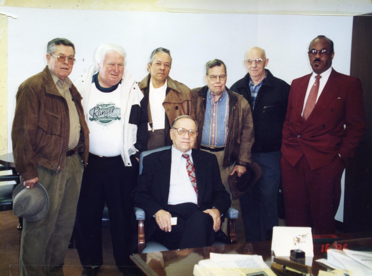 Albert Jones's Election Team