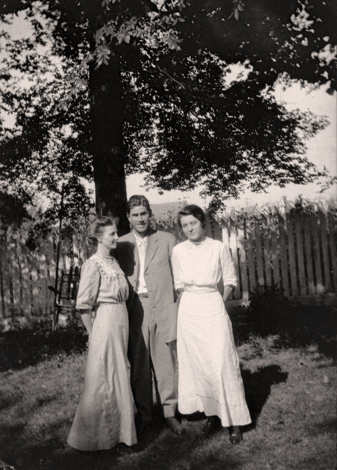 Aline Utterback, Ed Pepper and Ruth Bell