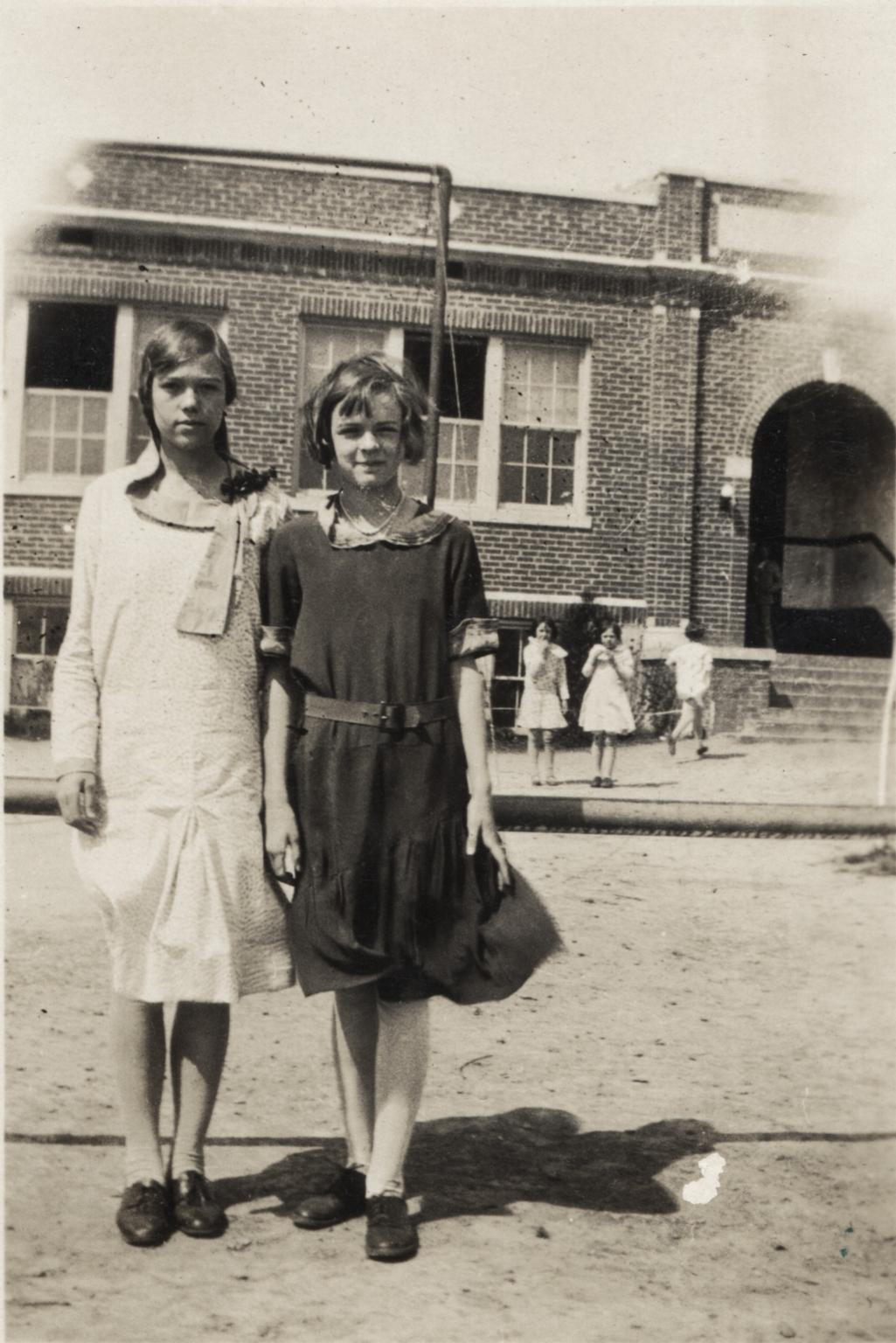Frances Orr and Edna Marie Stewart