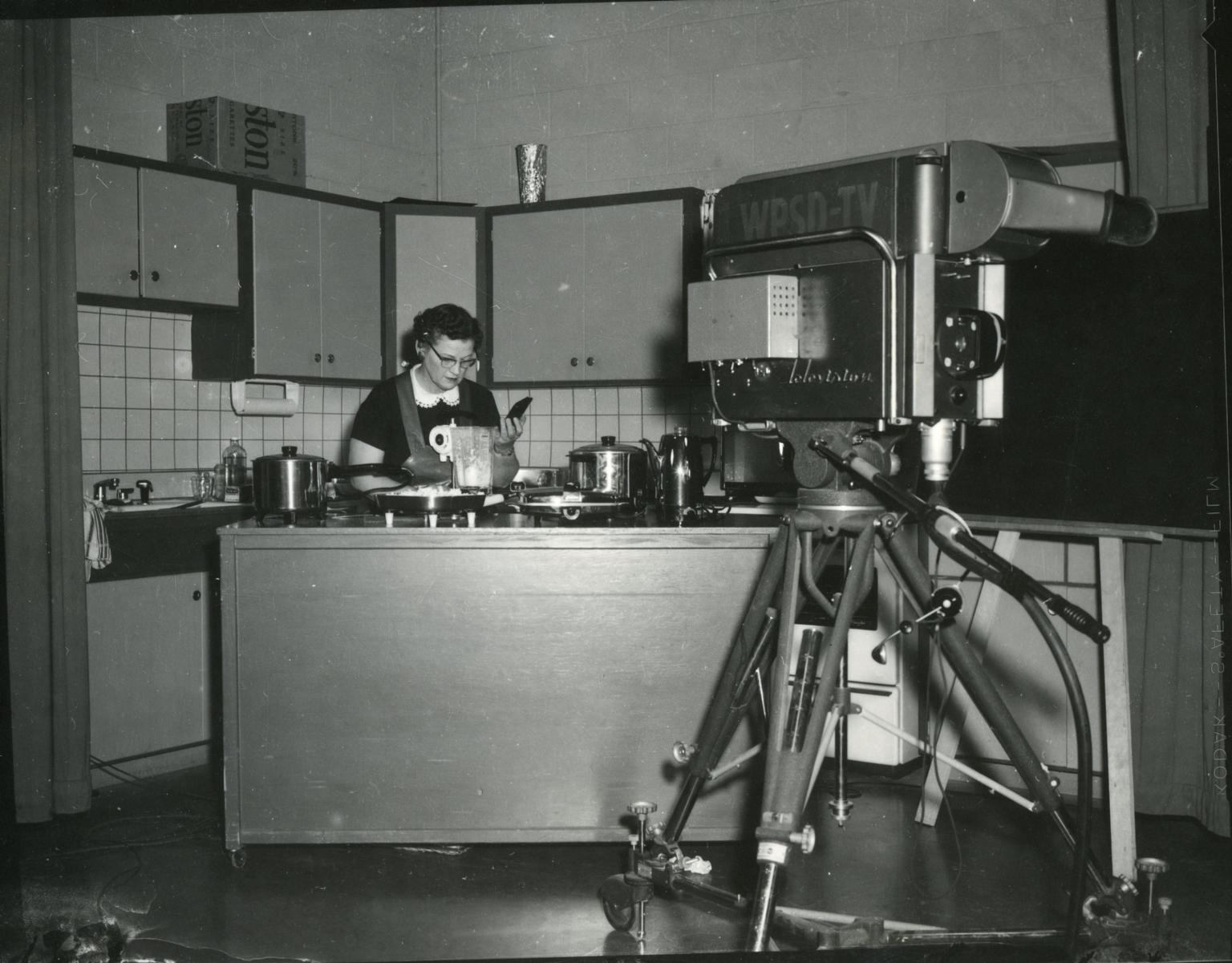 WPSD studio and kitchen set