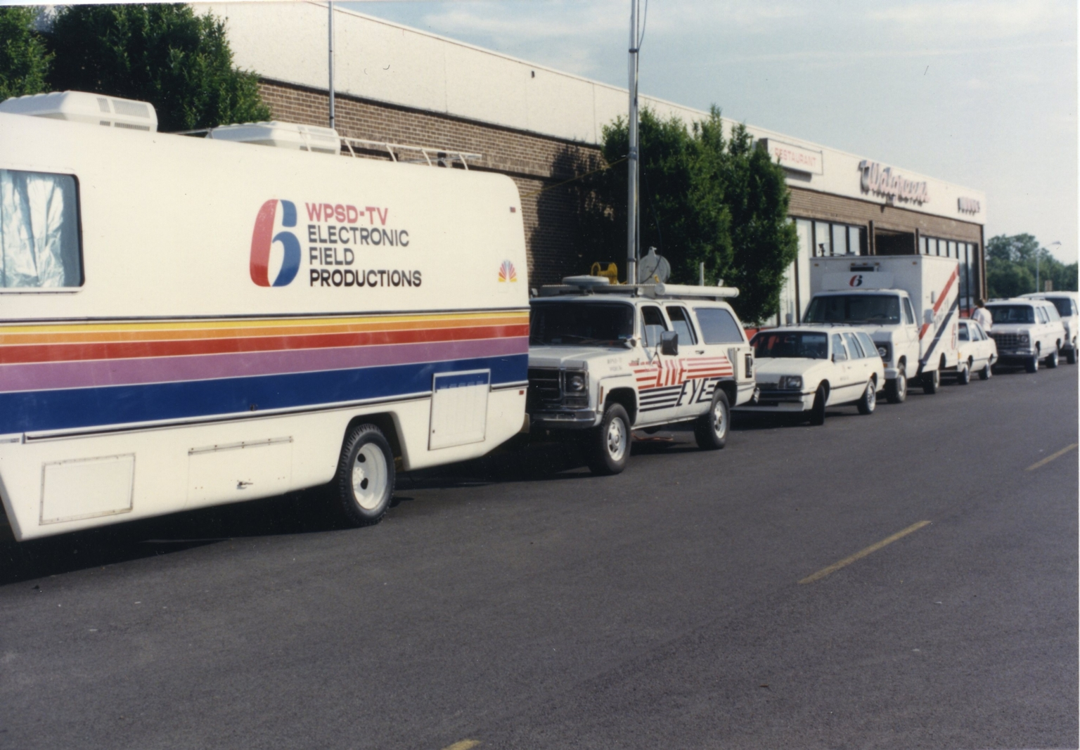 WPSD vehicles