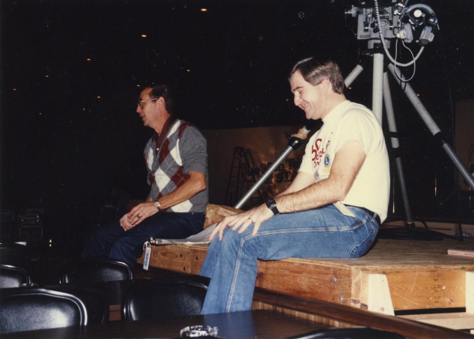 Bob Swisher and Kurt David Englehardt at Telethon of Stars in Paducah (KY)