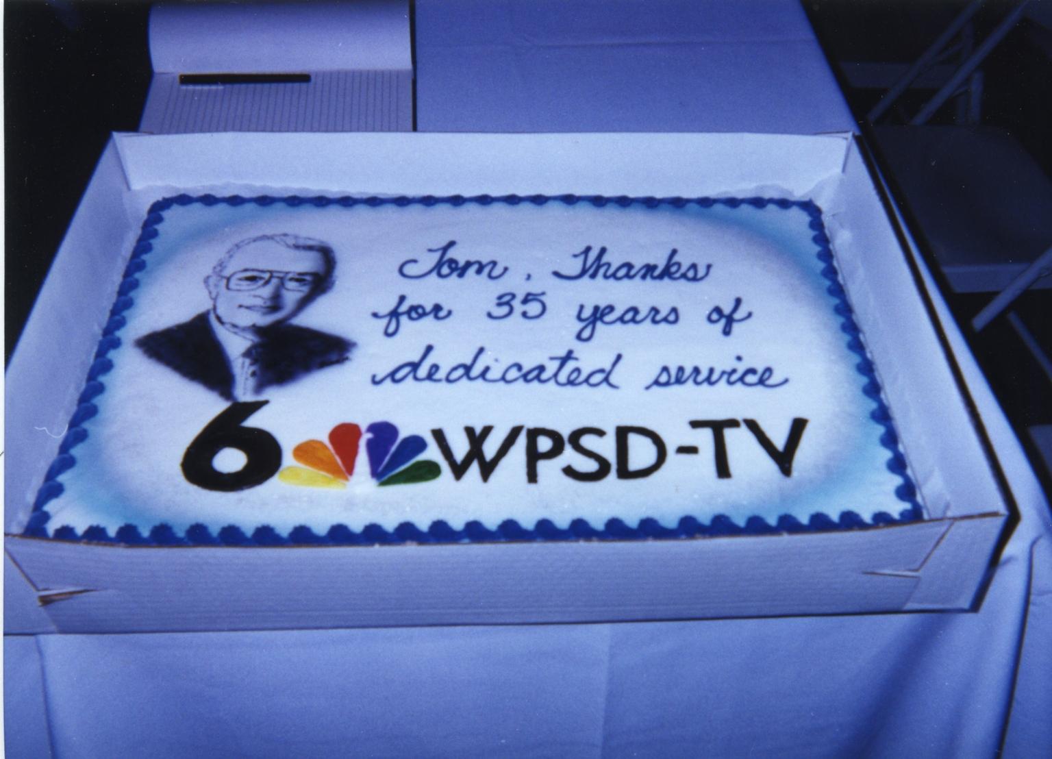 Retirement cake for Tom Butler