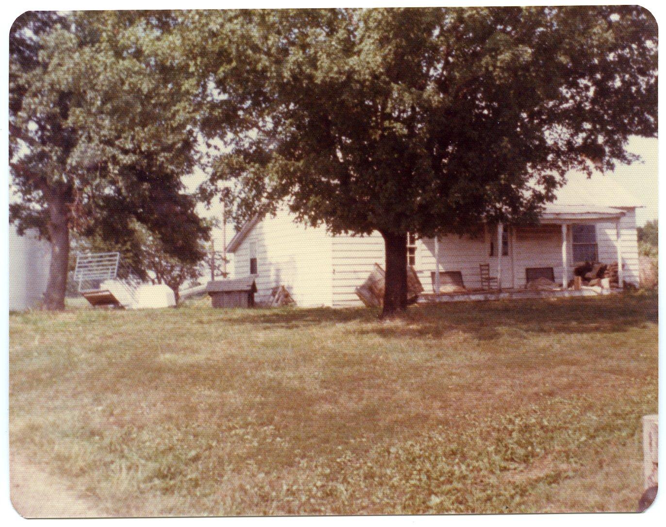 House on Hubert Childress Farm