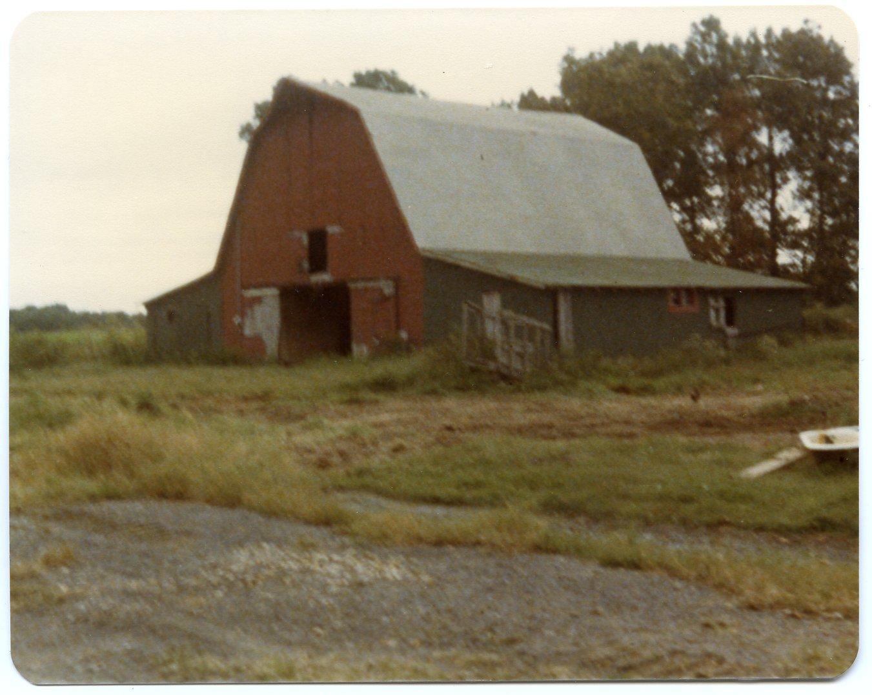 Barn on Craig(?) Lovett Farm