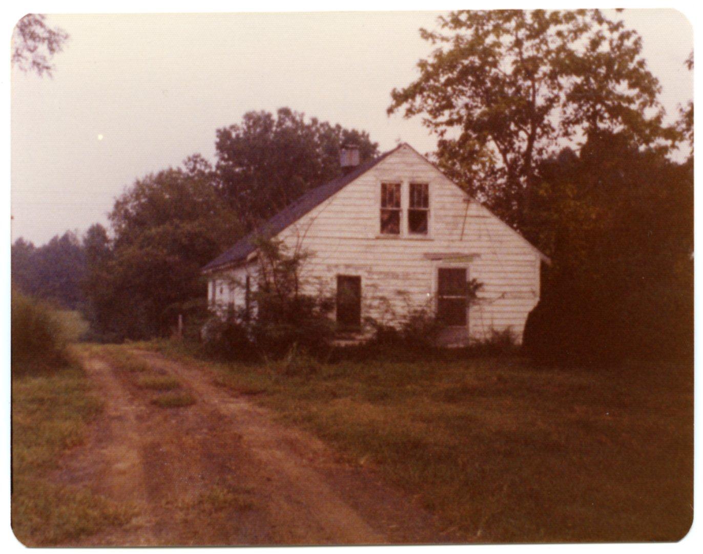 House on the T.D. Womble Farm