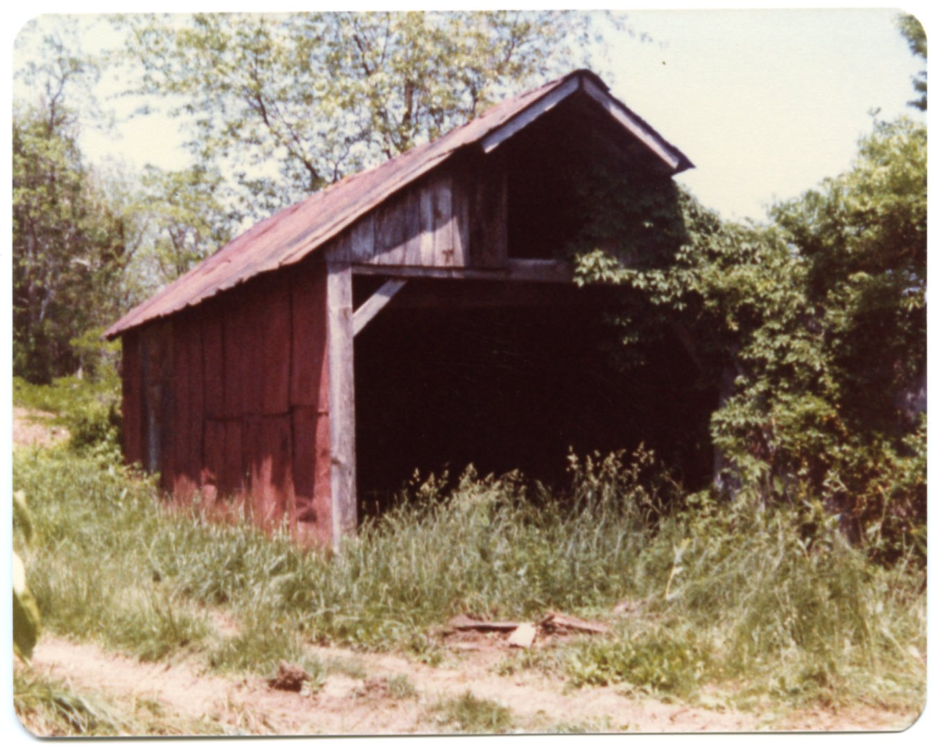 Old Car Shed on the Fred Sisk Farm