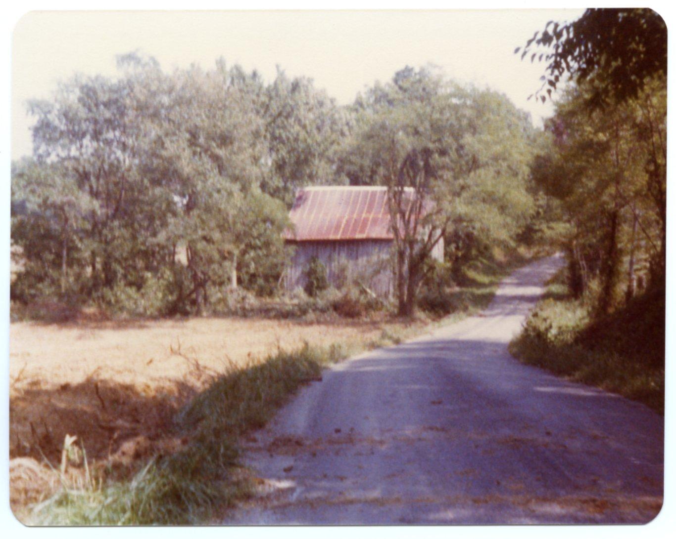 Barn on Ed McLeod Farm