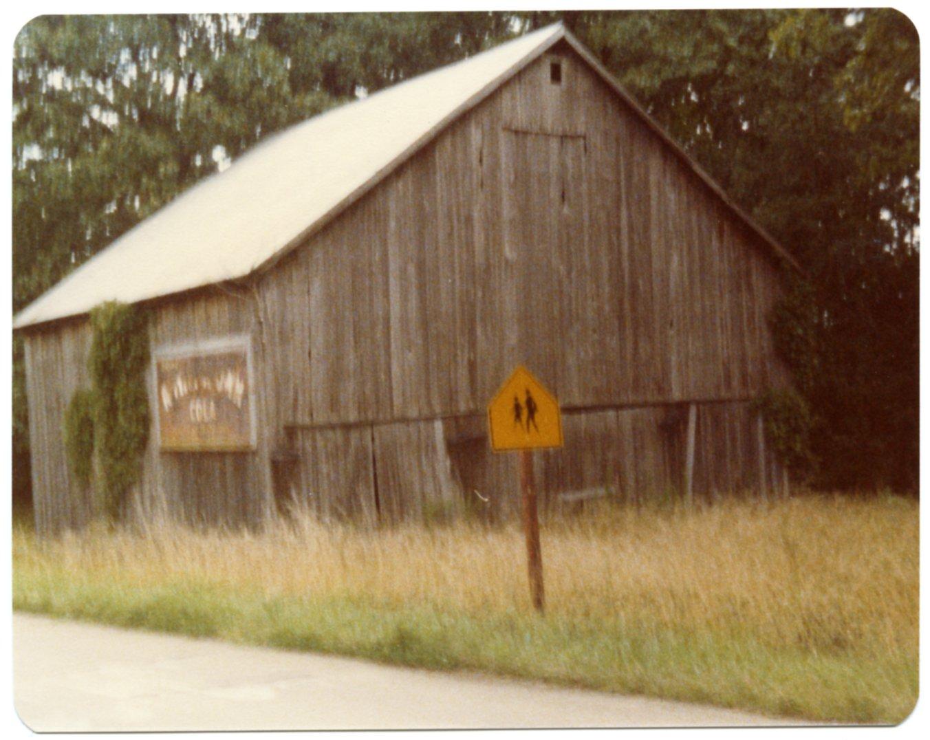 Barn on Hub Skinner Farm