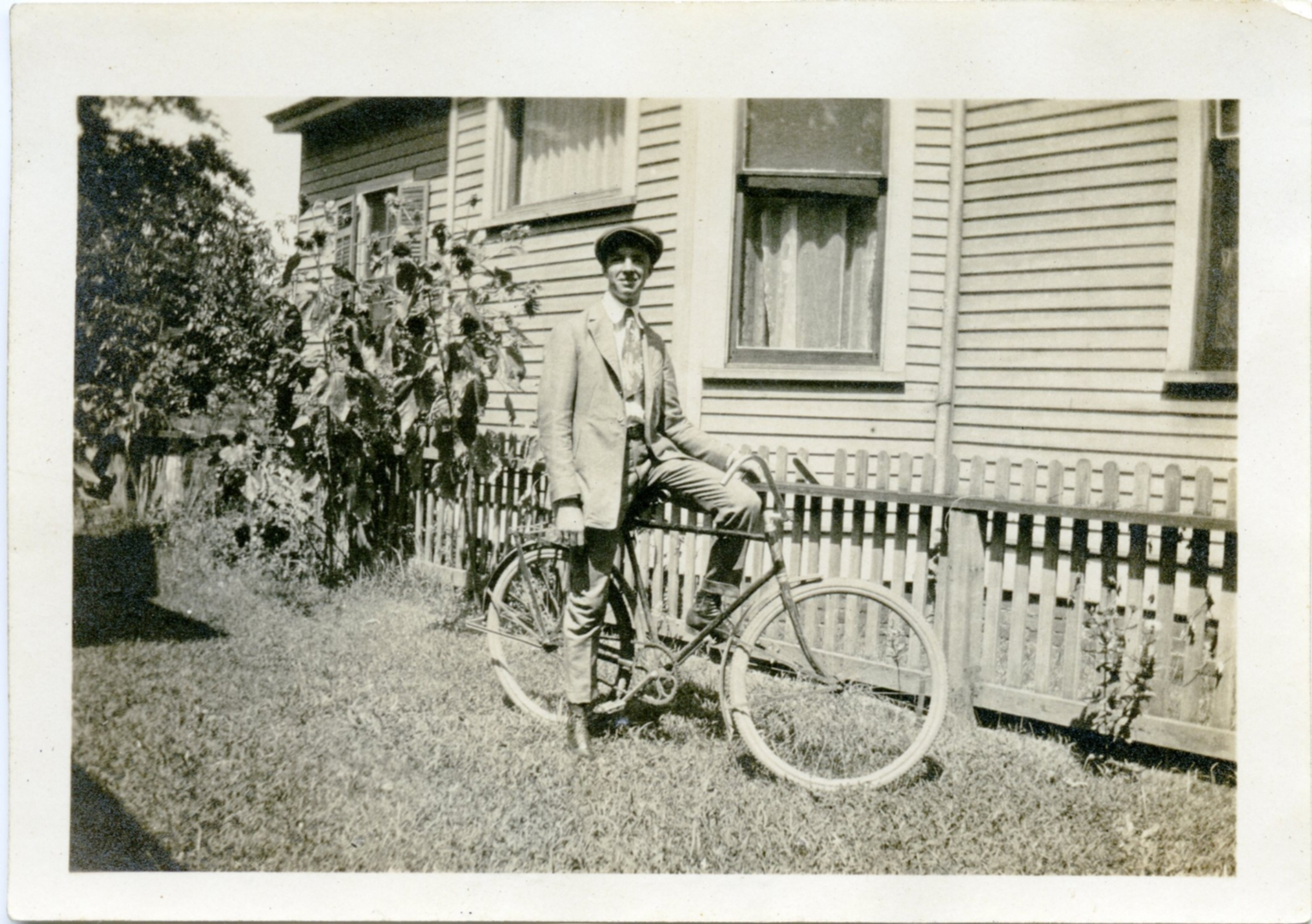 Bicycle by the House