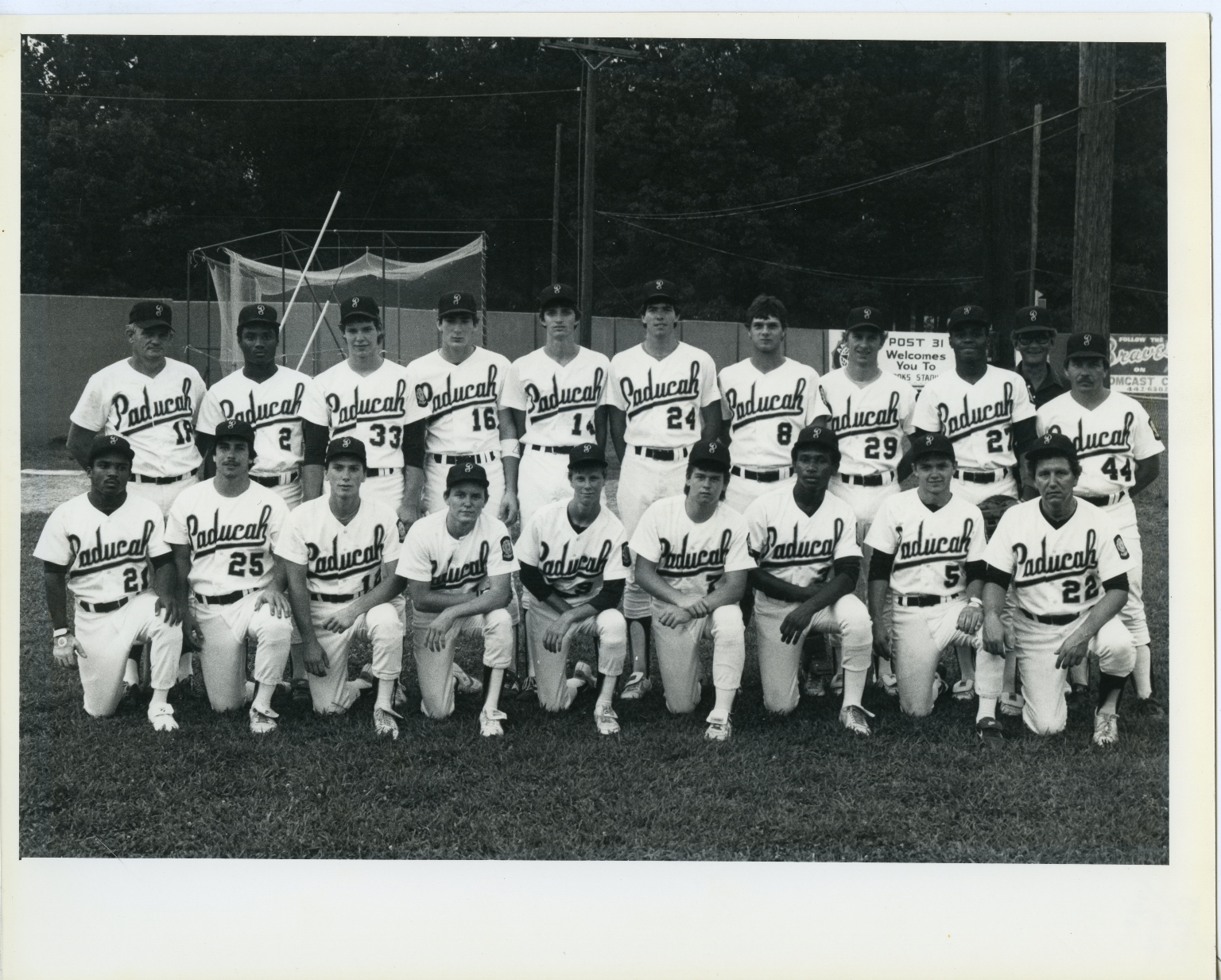 Paducah Post 31 Baseball Team