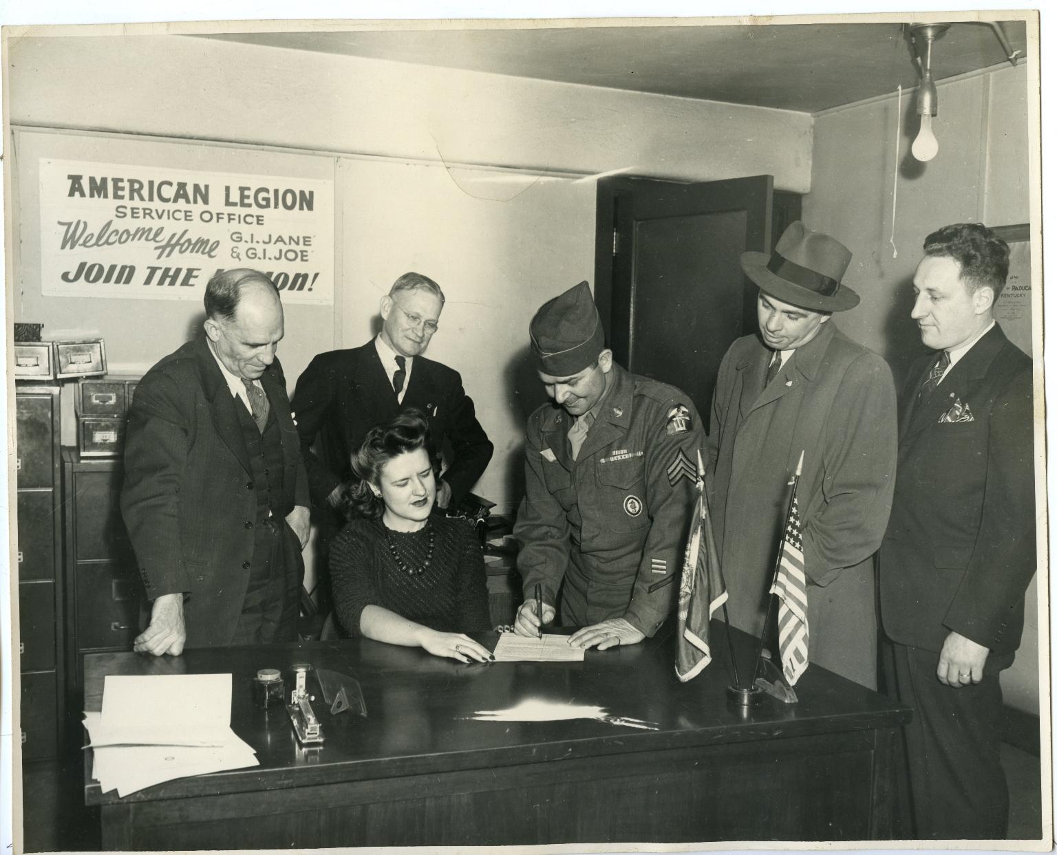 American Legion Service Office