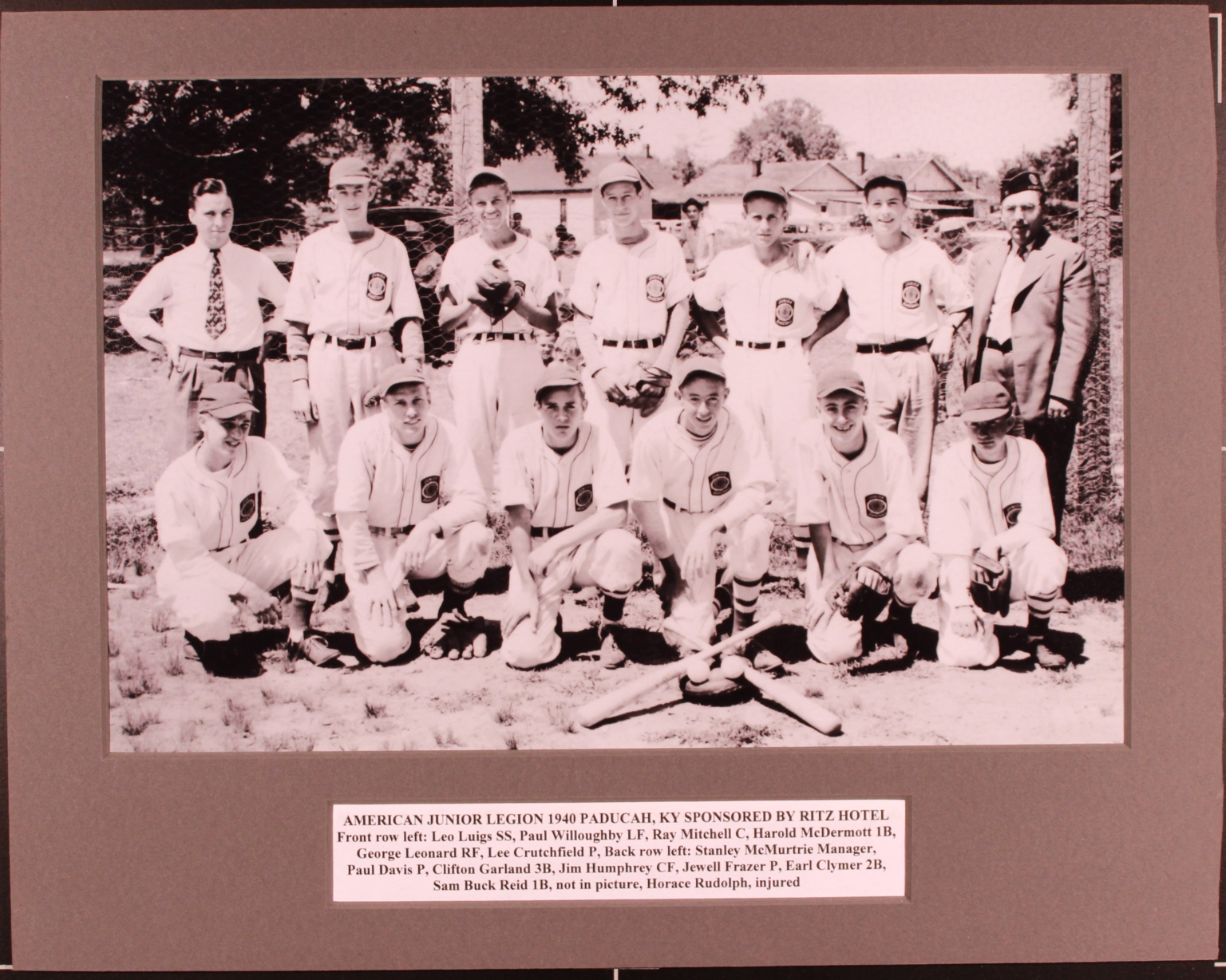 American Junior Legion 1940