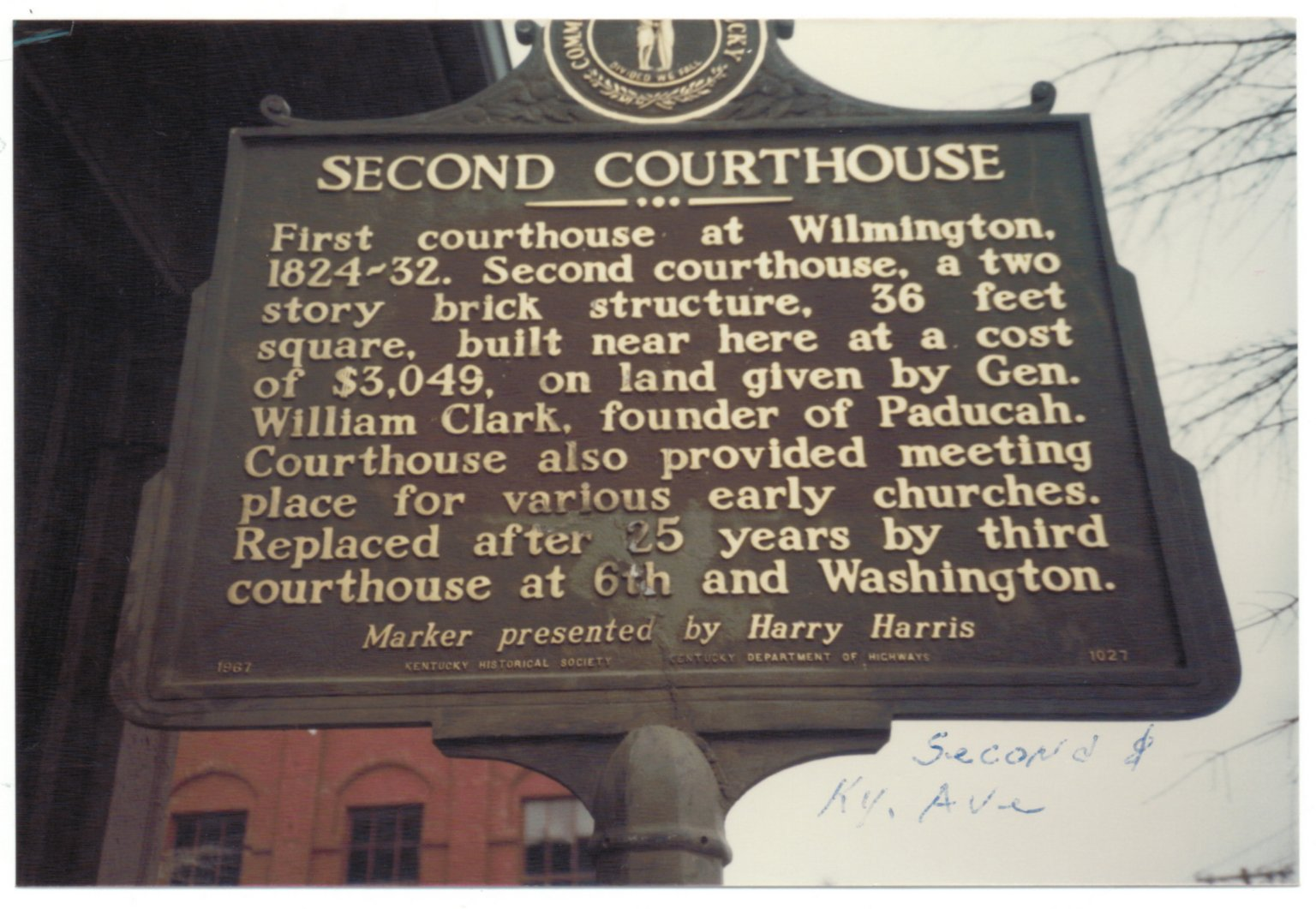 First Court House