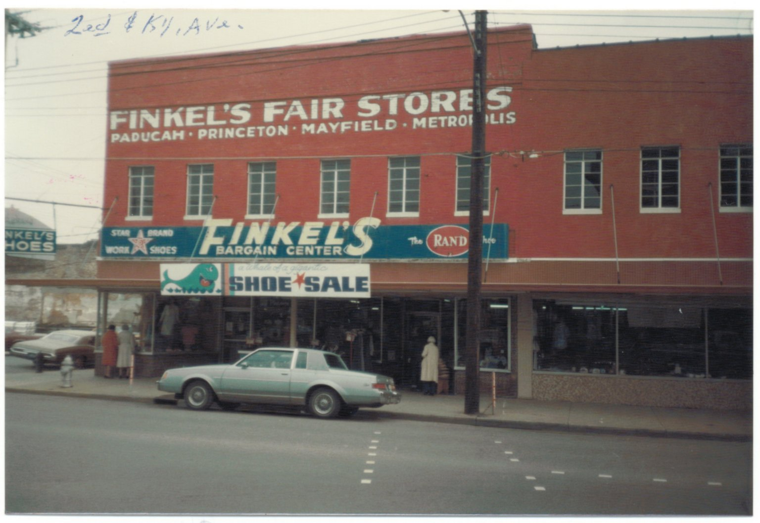 Finkels, Second and Kentucky